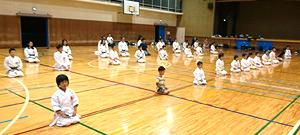 日本拳法白虎会体験入門案内