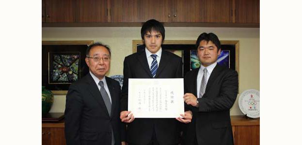 2011年3月16日に枚方市長より感謝状をいただきました!